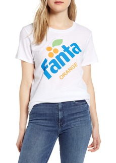 Lucky Brand Orange Fanta Graphic Tee