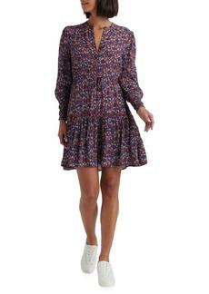 Lucky Brand Paisley-Print Short Dress