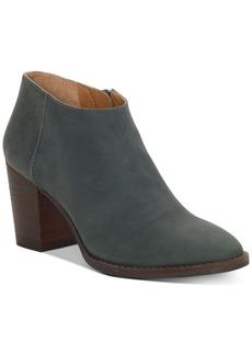 Lucky Brand Pamira Block-Heel Booties Women's Shoes