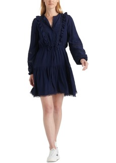 Lucky Brand Parker Ruffled Dress