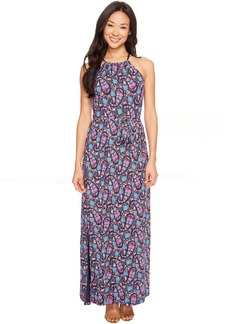Lucky Brand Party Paisley Maxi Dress