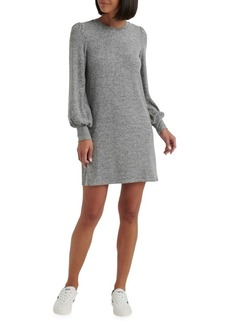 Lucky Brand Peasant-Sleeve Mini Shift Dress