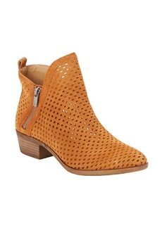 Lucky Brand Perforated Leather Booties