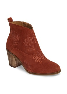 Lucky Brand Pexton Embroidered Bootie (Women)
