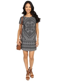 Lucky Brand Placed Bandana T-Shirt Dress