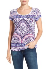 Lucky Brand Placed Print Tee