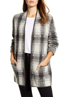 Lucky Brand Plaid Cardigan