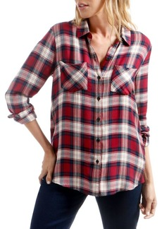 Lucky Brand Plaid Long-Sleeve Shirt