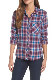 Lucky Brand Plaid Pocket Shirt