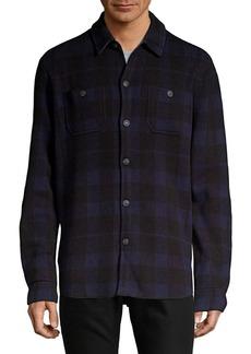 Lucky Brand Plaid Western Button-Down Shirt