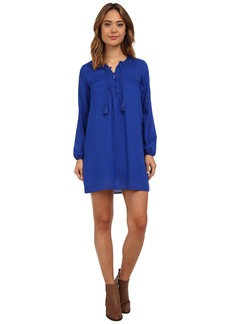Lucky Brand Pleated Shift Dress