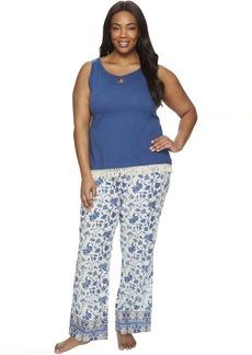 Lucky Brand Plus Size Cotton Fringe Tee Jay