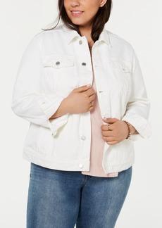 Lucky Brand Plus Size The Tomboy Trucker Jean Jacket