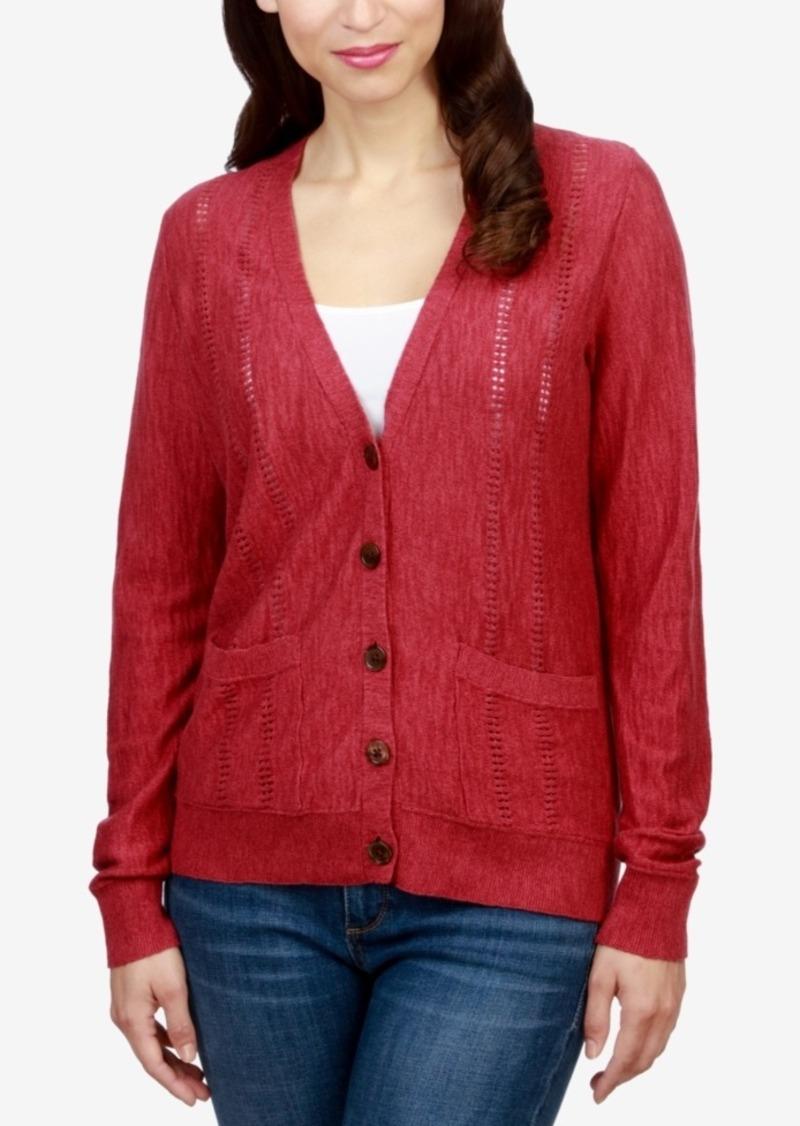 Lucky Brand Lucky Brand Pocketed Boyfriend Cardigan | Sweaters ...