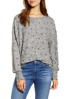 Lucky Brand Polka Dot Top