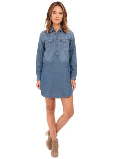 Lucky Brand Popover Shirtdress