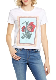Lucky Brand Poppies Tee