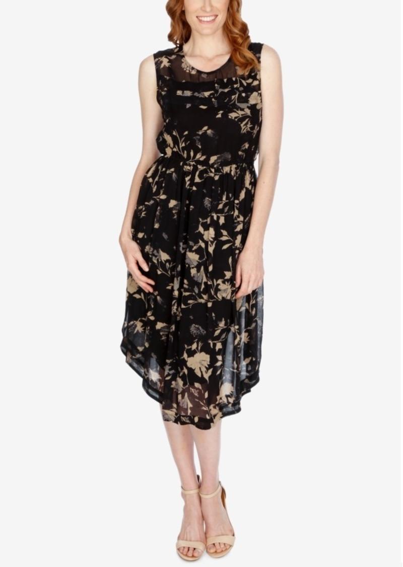 Lucky Brand Printed A-Line Dress