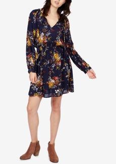 Lucky Brand Printed Drop-Waist Dress