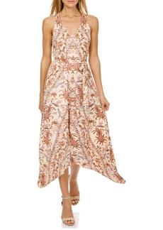 Lucky Brand Printed Handkerchief Dress
