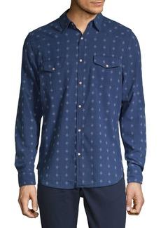 Lucky Brand Printed Long-Sleeve Shirt