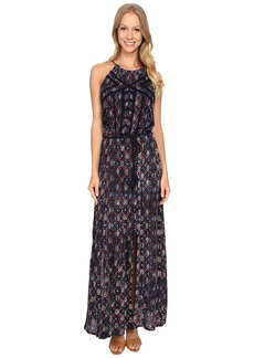 Lucky Brand Printed Maxi Dress