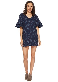 Lucky Brand Printed Mini Dress