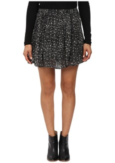 Lucky Brand Printed Mini Skirt