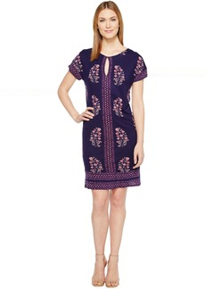 Lucky Brand Printed Tee Dress