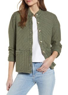 Lucky Brand Quilted Cotton Jacket