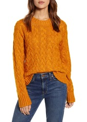 Lucky Brand Quinn Cable Knit Sweater