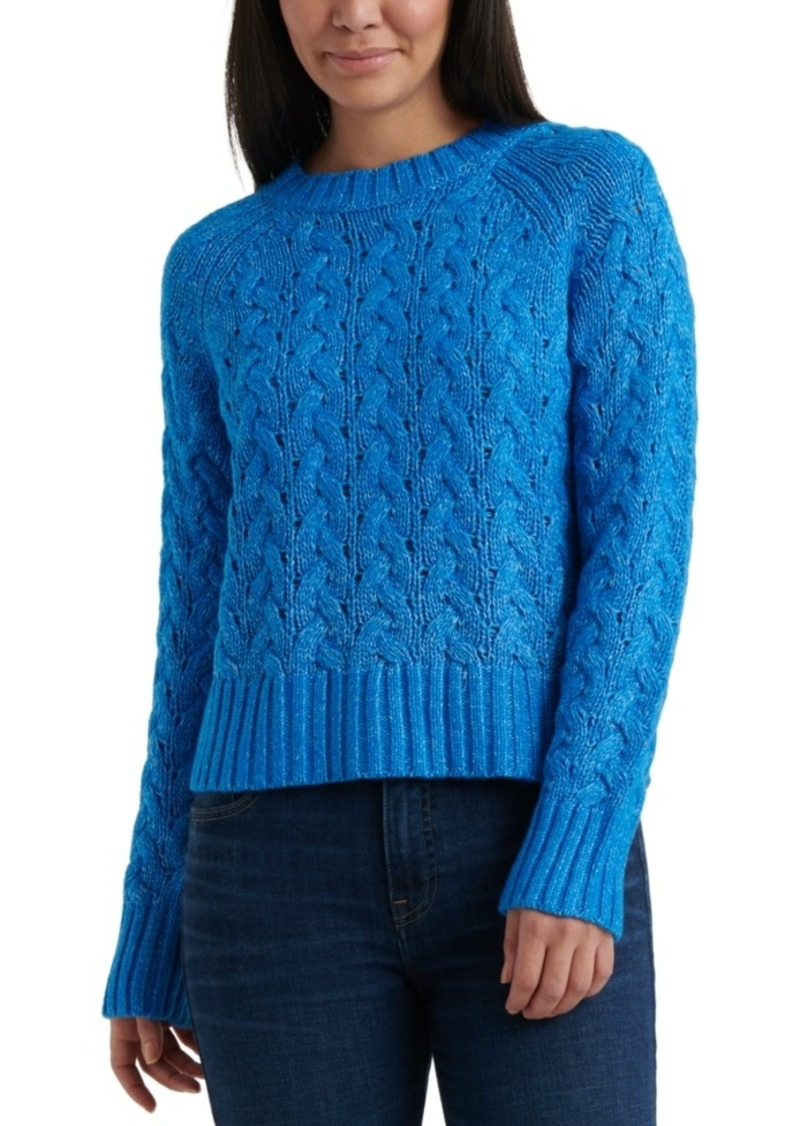 Lucky Brand Quinn Cable-Knit Sweater