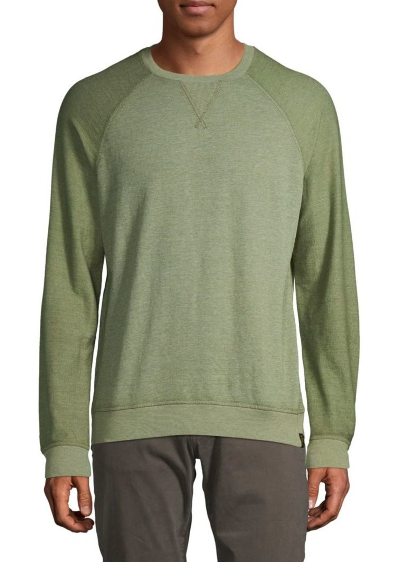 Lucky Brand Raglan Crewneck Sweatshirt