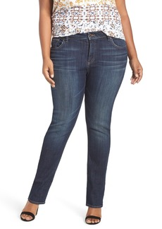 Lucky Brand 'Reese' Ripped Boyfriend Jeans (Matira) (Plus Size)