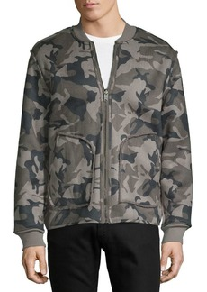 Lucky Brand Reversible Camo & Faux Fur Bomber Jacket