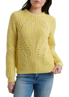 Lucky Brand Rib-Knit Sweater