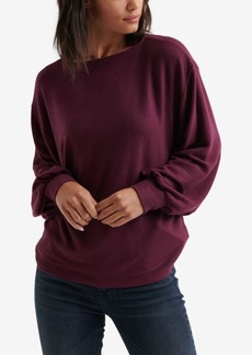 Lucky Brand Ribbed Dolman Sweater