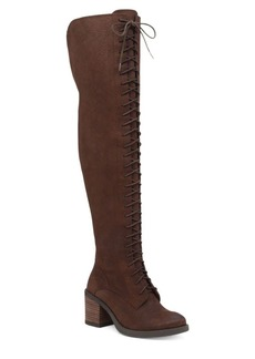 Lucky Brand Riddick Leather Over-the-Knee Boots