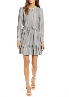 Lucky Brand Riley Long Sleeve Shirtdress