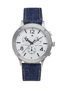 Lucky Brand Rockpoint Multi-Function Denim Watch