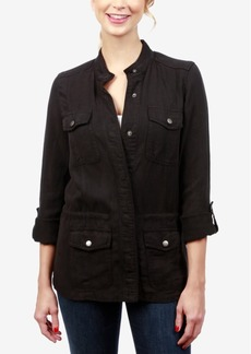 Lucky Brand Roll-Tab Military Jacket