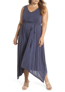 Lucky Brand Sandwashed Maxi Dress (Plus Size)