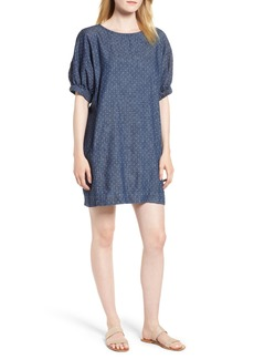 Lucky Brand Saturday Polka Dot Shift Dress