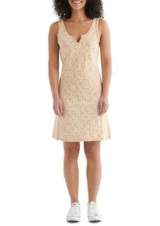 Lucky Brand Scallop Notch Sleeveless Cotton & Modal Knit Dress