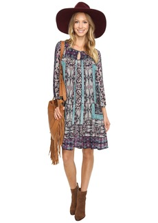 Lucky Brand Scarf Print Dress