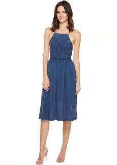 Lucky Brand Schiffli Bib Dress