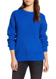 Lucky Brand Shaker Stitch Crewneck Sweater
