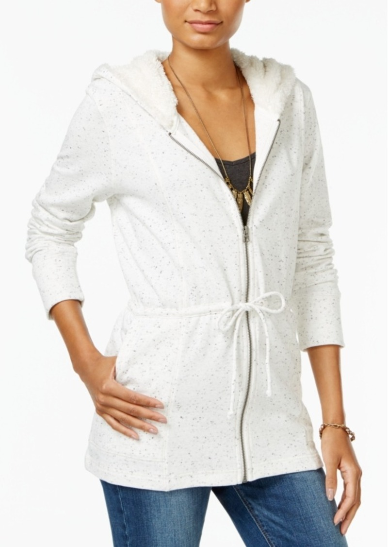 Lucky Brand Sherpa-Lined Hoodie