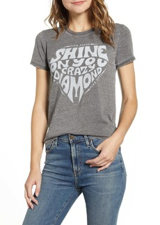 Lucky Brand Shine On Pink Floyd Tee