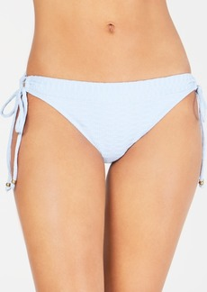 Lucky Brand Shoreline Chic Loop-Side Hipster Bikini Bottoms Women's Swimsuit